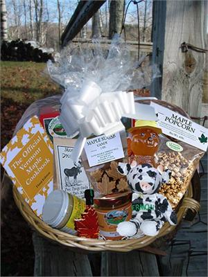 VT Gift Basket - Vermont Sugar and Spice Maple Syrup - create your own