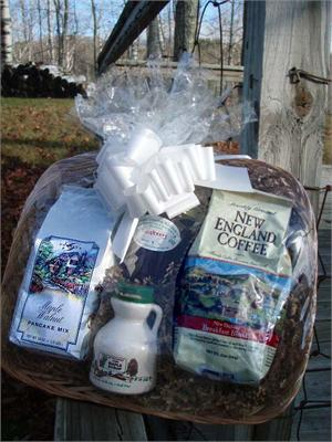 Vermont Gift Basket - VT Sugar and Spice - A Little Taste of Vermont