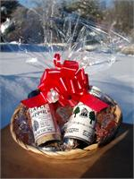 VT Gift Basket - Vermont Sugar and Spice Maple Syrup - Vermont Spice Up