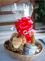 VT Gift Basket - Vermont Sugar and Spice Maple Syrup - VT Maple Treats