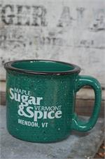 VT Sugar and Spice Campfire Logo Mug - Green
