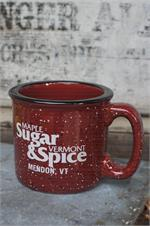 VT Sugar and Spice Campfire Logo Mug - Red